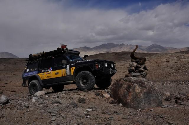 Zdjęcia: okolice Pamir Highway, Jezioro JasziKul, Marco Polo, TADŻYKISTAN