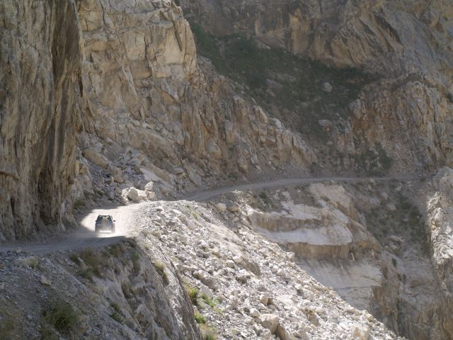 Zdjęcia: Tadżykistan, Główna droga w Tadżykistanie, TADŻYKISTAN