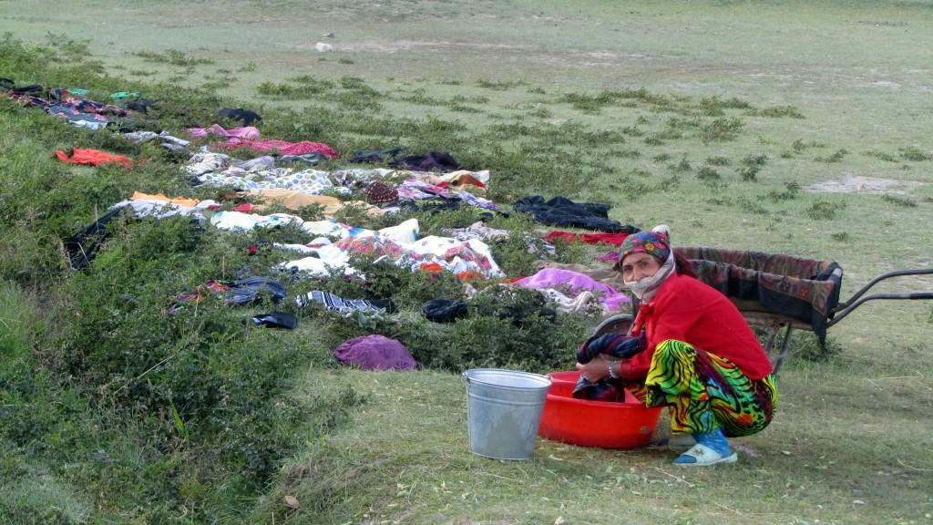 Zdjęcia: zagubione gdzies w gorach osady, GBAO, pralnia miejska , TADŻYKISTAN