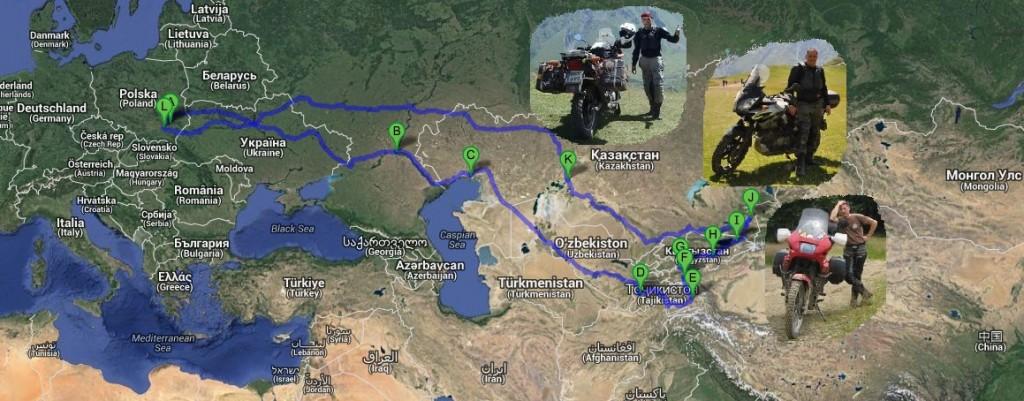 Zdjęcia: Azja Środkowa, Azja Środkowa, Plan trasy Azja Środkowa, TADŻYKISTAN