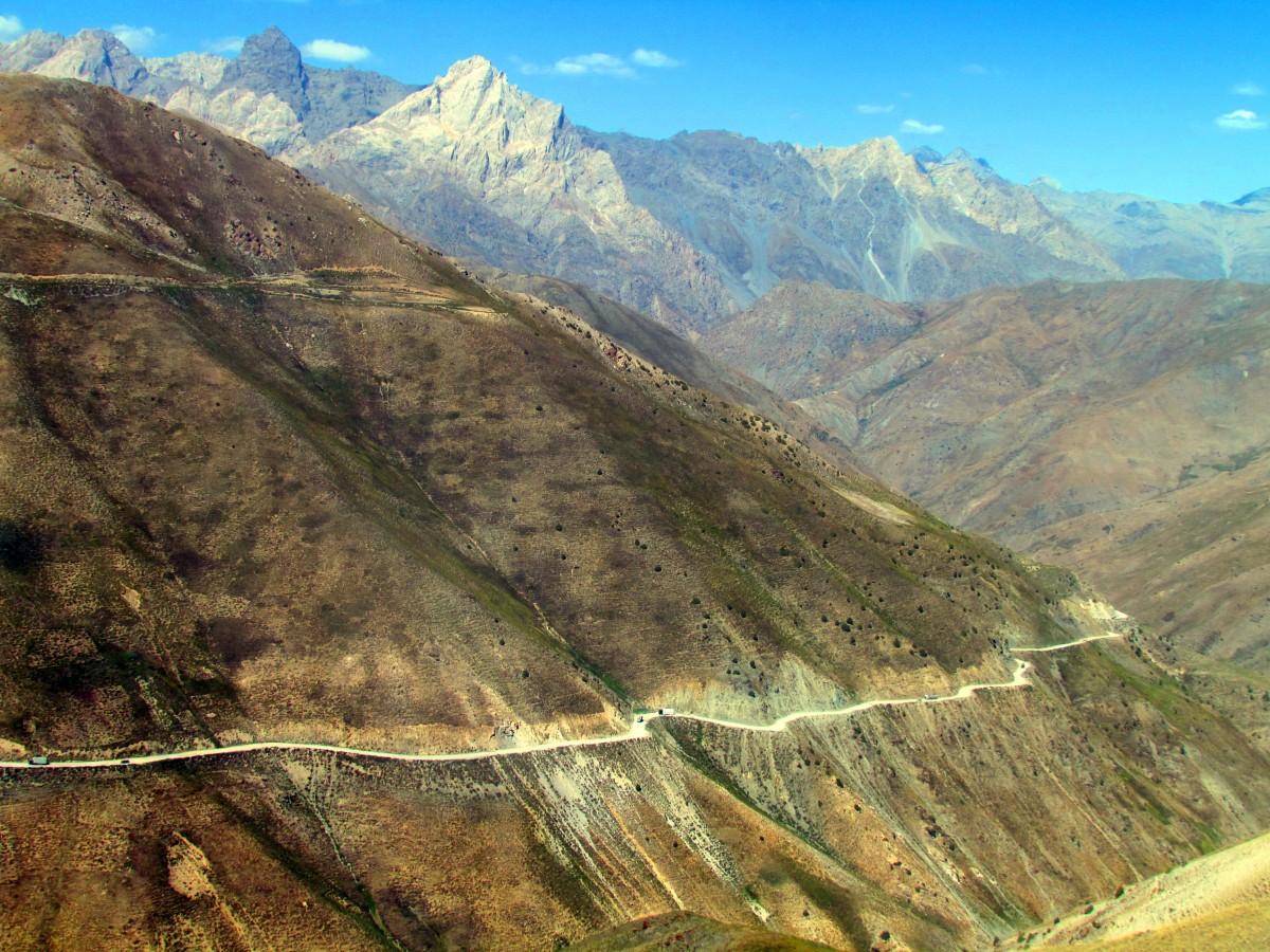 Zdjęcia: Anzob, Góry Fańskie, Na przełęczy, TADŻYKISTAN
