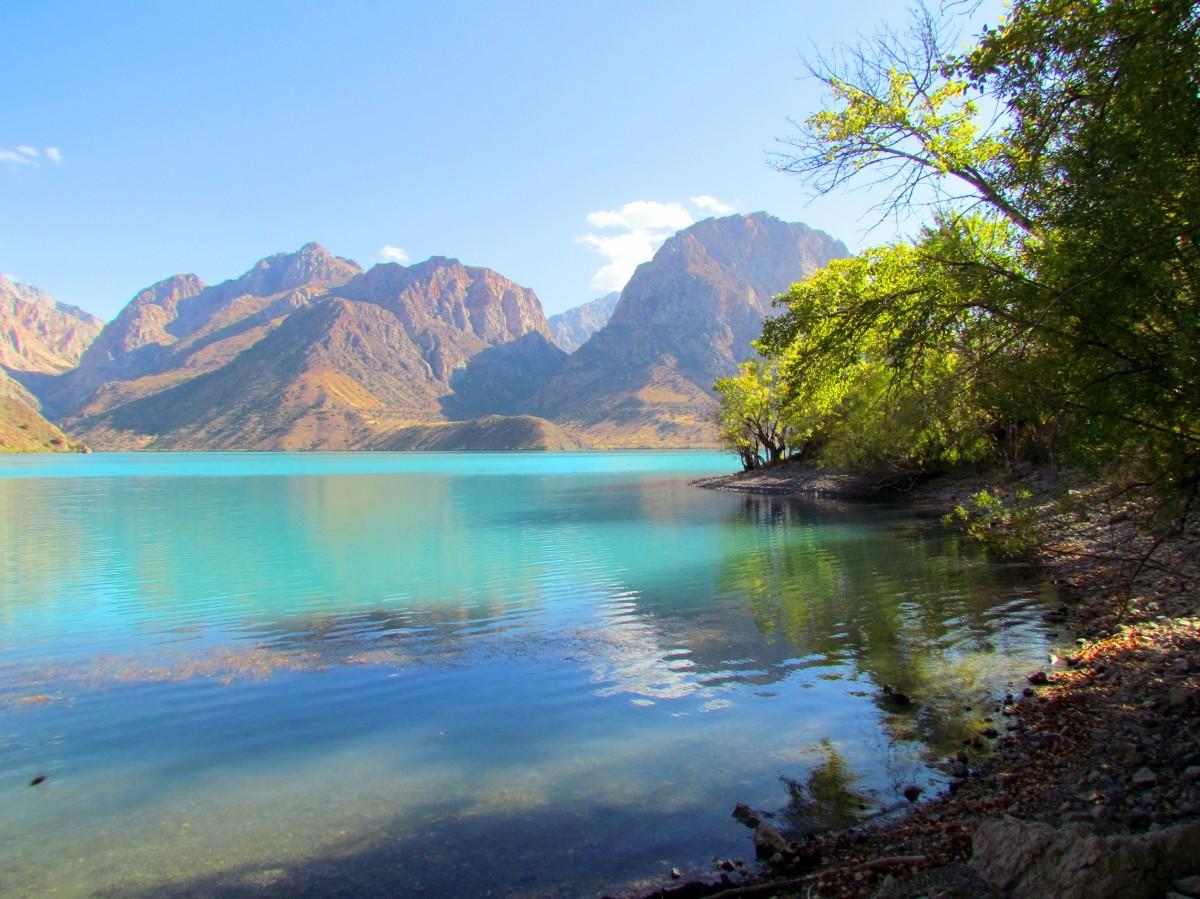 Zdjęcia: Iskandarkul, Góry Fańskie, Górskie jezioro Iskandarkul, TADŻYKISTAN