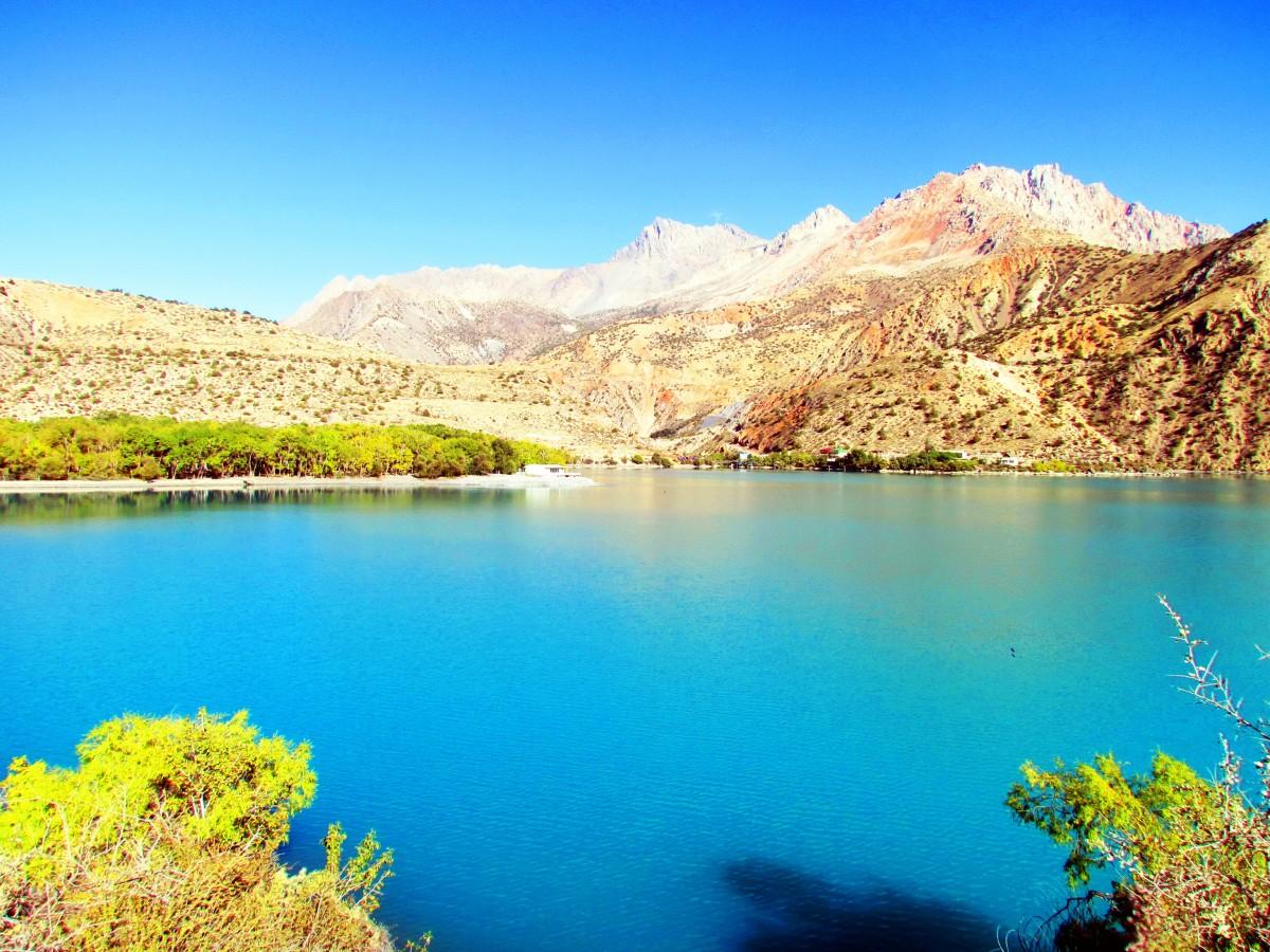 Zdjęcia: Iskandarkul, Góry Fańskie, Jezioro, TADŻYKISTAN
