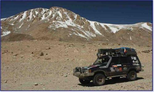 Zdjęcie TADŻYKISTAN / Pamir / Z Murgab w kierunku rzeki Pamir (do Langar) / Dyskoteka na szlaku