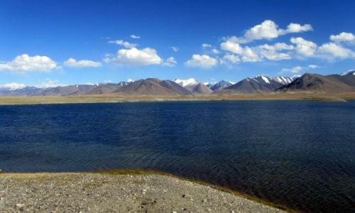 Zdjecie TAD�YKISTAN / GBAO / rezerwat ZORKUL 4360m npm / martwe jeziora