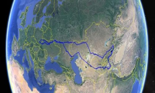 Zdjecie TADŻYKISTAN / Azja Środkowa / Azja Środkowa / Plan trasy Azja Środkowa