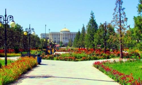 Zdjęcie TADŻYKISTAN / Duszanbe / Duszanbe / Pałac prezydenta