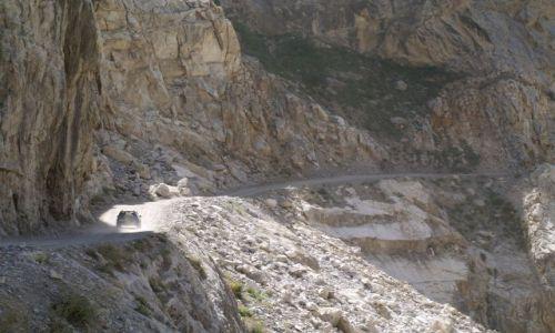 Zdjęcie TADŻYKISTAN / brak / Tadżykistan / Główna droga w Tadżykistanie
