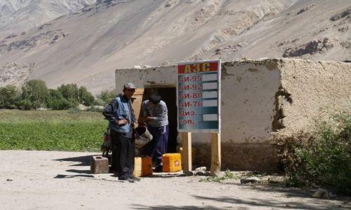 TADŻYKISTAN / brak / Tadżykistan / stacja benzynowa