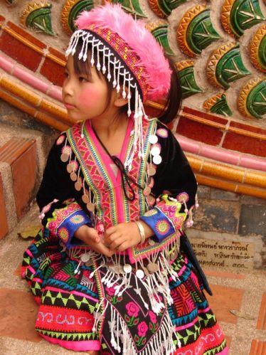 Zdj�cia: Chiang Mai, Dziewczynka , TAJLANDIA