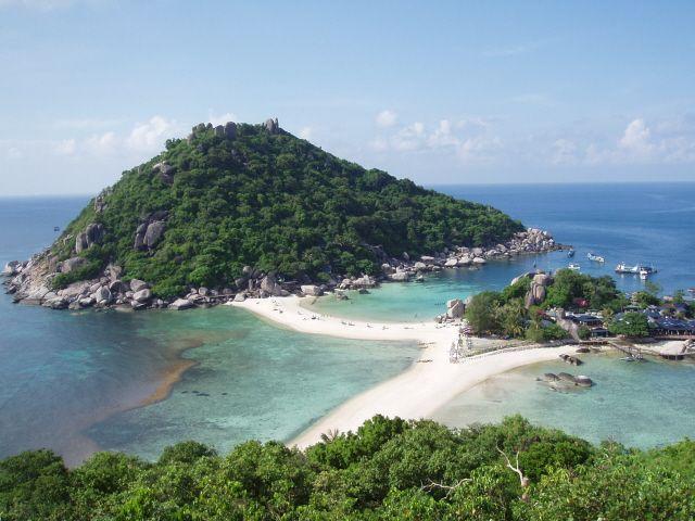 Zdjęcia: Wyspa Nangyuan, Wyspy wyjątkowe, TAJLANDIA