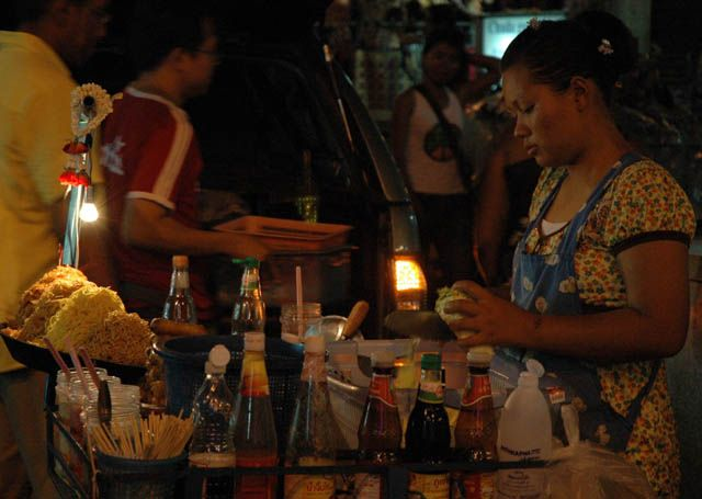 Zdjęcia: Bangkok, Tajlandia , Makaron po tajsku, TAJLANDIA