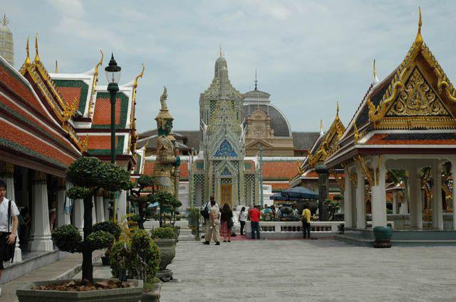Zdj�cia: Bangkok, Tajlandia, Royal Palace, TAJLANDIA