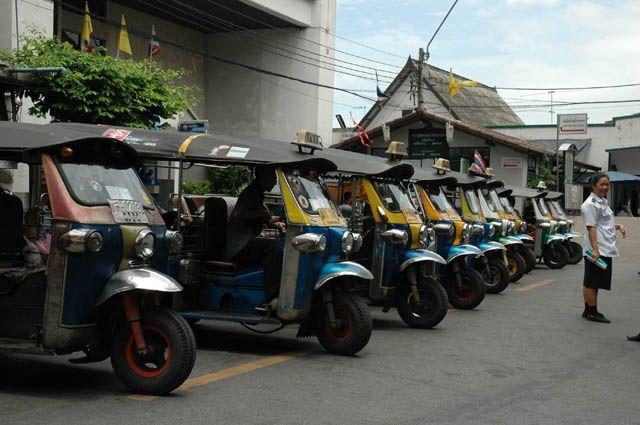 Zdjęcia: Bangkok, Tajlandia, Tuck Tuck's, TAJLANDIA