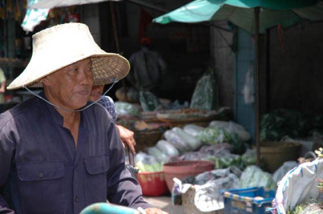 Zdjęcia: Bangkok - China town, Tajlandia, Na chinskim targu w Bangkoku, TAJLANDIA