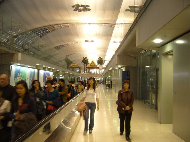 Zdjęcia: Terminal Lotniczy Bangkok, terminal lotniczy, TAJLANDIA