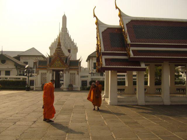 Zdjęcia: Bangkok Wielki Pałac, turyści, TAJLANDIA