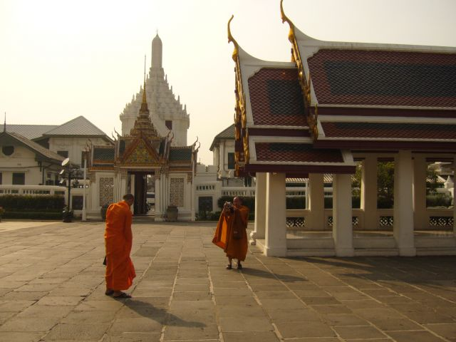 Zdj�cia: Bangkok Wielki Pa�ac, tury�ci, TAJLANDIA
