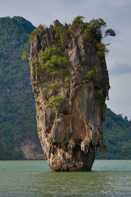 Zdjęcia:  Ko Tapu, James Bond Island, TAJLANDIA