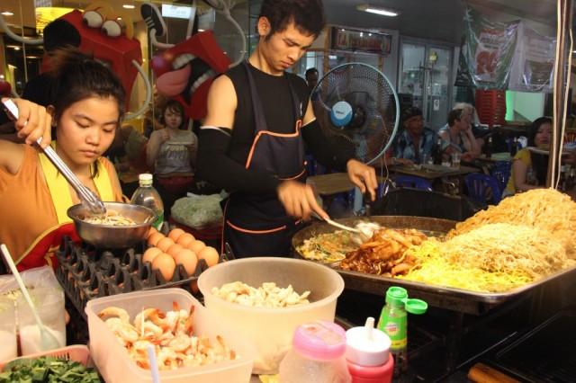 Zdjęcia: Khao San, Bangkok, Pad Thai, TAJLANDIA