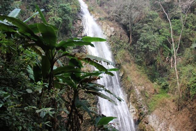 Zdjęcia: Chiang Rai, Północna Tajlandia, Wodospady Khun Kon, TAJLANDIA