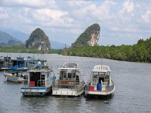 Zdjęcia: Krabi, przystań, TAJLANDIA