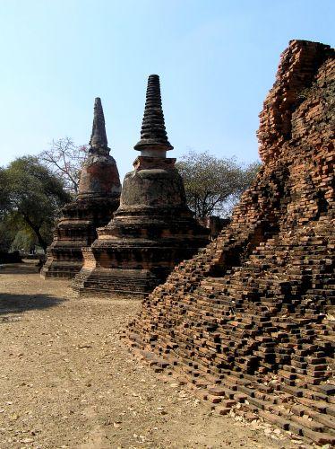 Zdjęcia:  Wat Phra Mahathat, Ajutthaja, Ajutthaja, TAJLANDIA