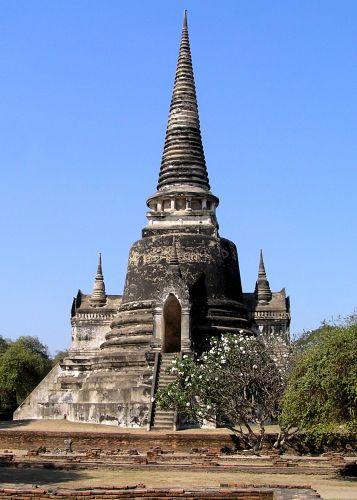 Zdjęcia: dawny pałac królewski, Ajutthaja, ruiny, TAJLANDIA