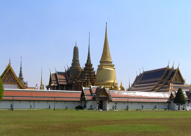 Zdjęcia: pałac królewski, Bangkok, Rattanakosin, TAJLANDIA