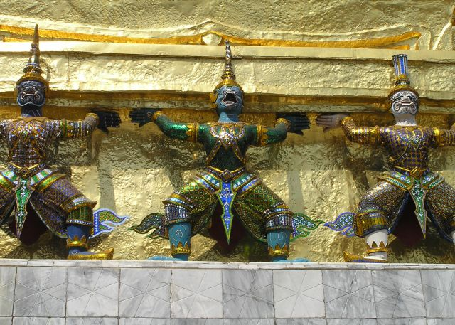 Zdj�cia: pa�ac kr�lewski, Bangkok, pa�ac2, TAJLANDIA