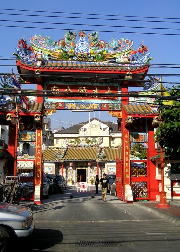 Zdj�cia: chinatown, Bangkok, chinatown, TAJLANDIA