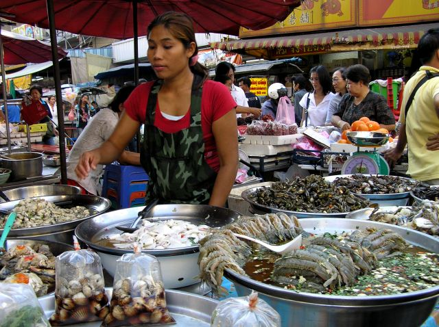 Zdjęcia: chinatown, Bangkok, bazarek, TAJLANDIA