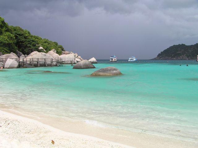 Zdjęcia: Ko Nangyuan, Zatoka Tajlandzka, zatoczka, TAJLANDIA