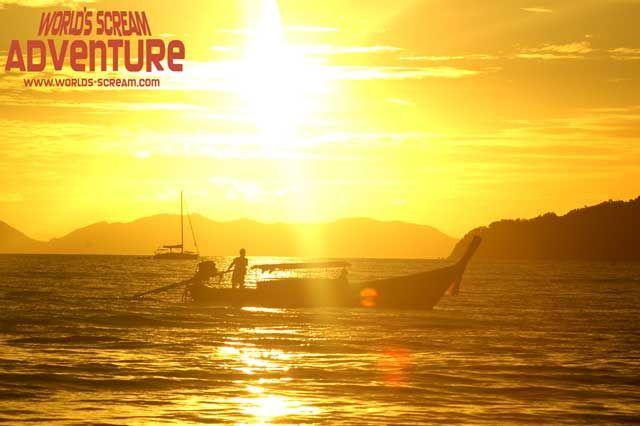 Zdjęcia: Krabi, Zachód Słońca, TAJLANDIA