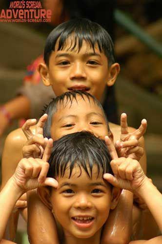 Zdj�cia: Dzieciaki, TAJLANDIA