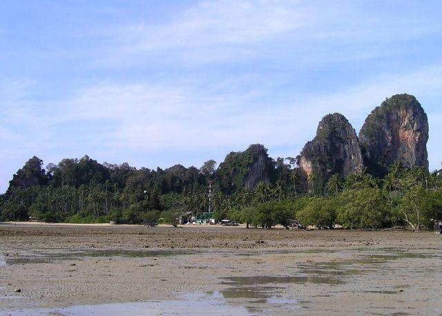Zdjęcia: Raily beach, Krabi, odpływ, TAJLANDIA