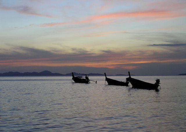 Zdjęcia: Ko Pu, Morze Andamańskie, wieczorem, TAJLANDIA