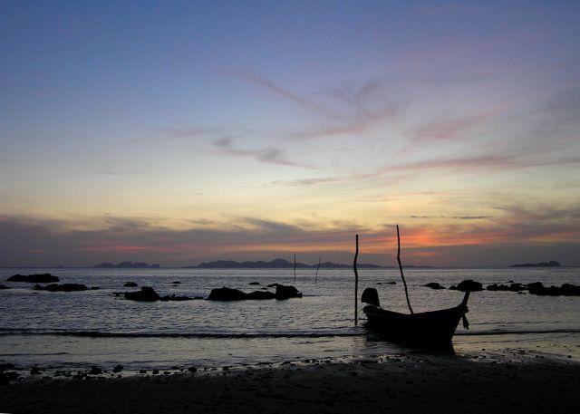 Zdjęcia: Ko Pu, Morze Andamańskie, wieczorem2, TAJLANDIA