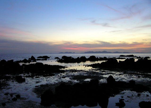 Zdjęcia: Ko Pu, Morze Andamańskie, wieczorem3, TAJLANDIA