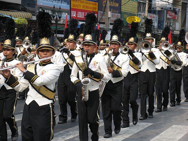 Zdjęcia: Bangkok, Bangkok, orkiestra, TAJLANDIA
