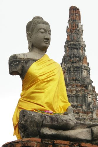 Zdjęcia: Ayutthaya, wspomnienie o dawnej świetności 1, TAJLANDIA