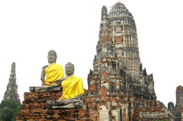 Zdjęcia: Ayutthaya, wspomnienie o dawnej świetności 2, TAJLANDIA