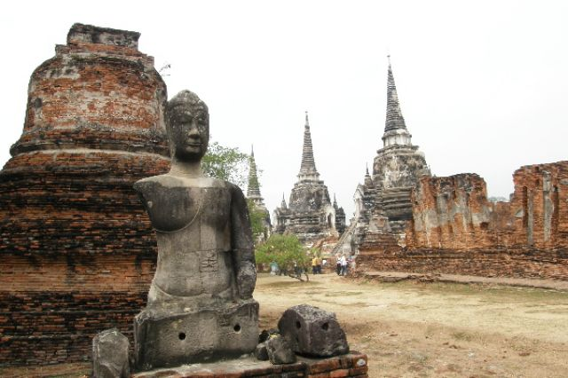 Zdjęcia: Ayutthaya, wspomnienie o dawnej świetności 3, TAJLANDIA