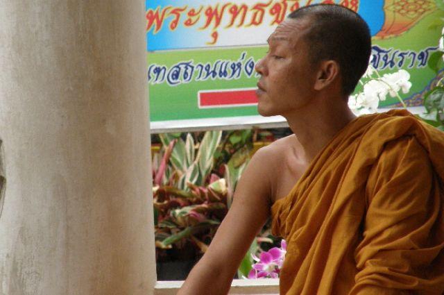 Zdjęcia: Phitsanulok, Tajski Mnich, TAJLANDIA