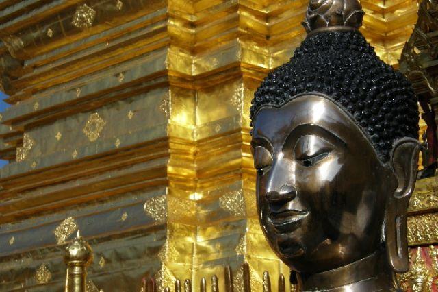 Zdjęcia: Wat Doi Suthep, okolice Chiang Mai, Budda3, TAJLANDIA