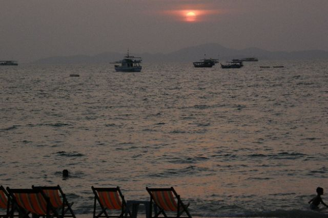 Zdjęcia: Pattaya, zachód słońca 1 , TAJLANDIA