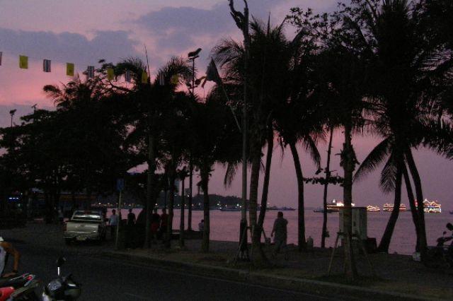 Zdjęcia: Pattaya, zmierzch, TAJLANDIA