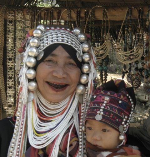 Zdjęcia: wioska plemienia Akha, północ, Piękna inaczej, TAJLANDIA