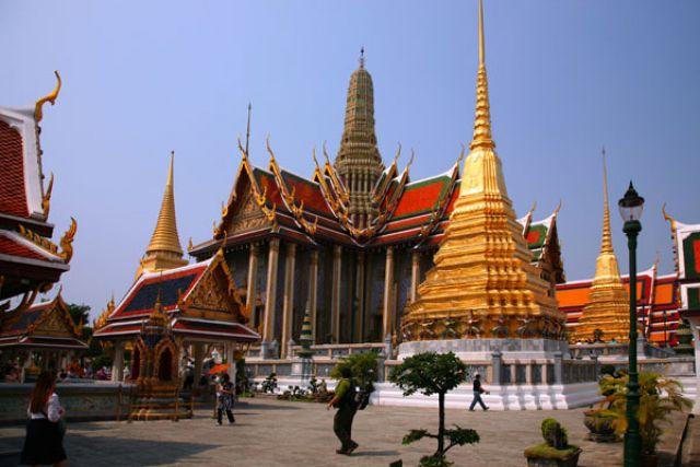 Zdjęcia: Bangkok :Palac królewski:, Fotka 2, TAJLANDIA