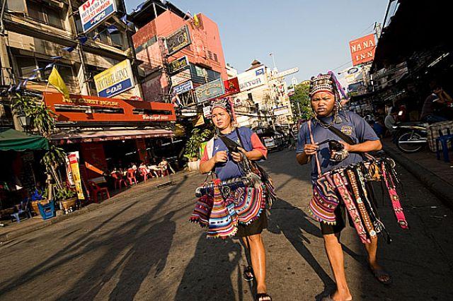 Zdjęcia: Bangkok KHAO SAN ROAD kobiety z pl.AKHA, Fotka 8, TAJLANDIA